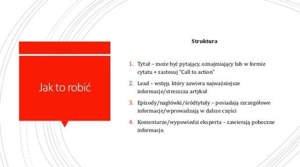 struktura tekstu