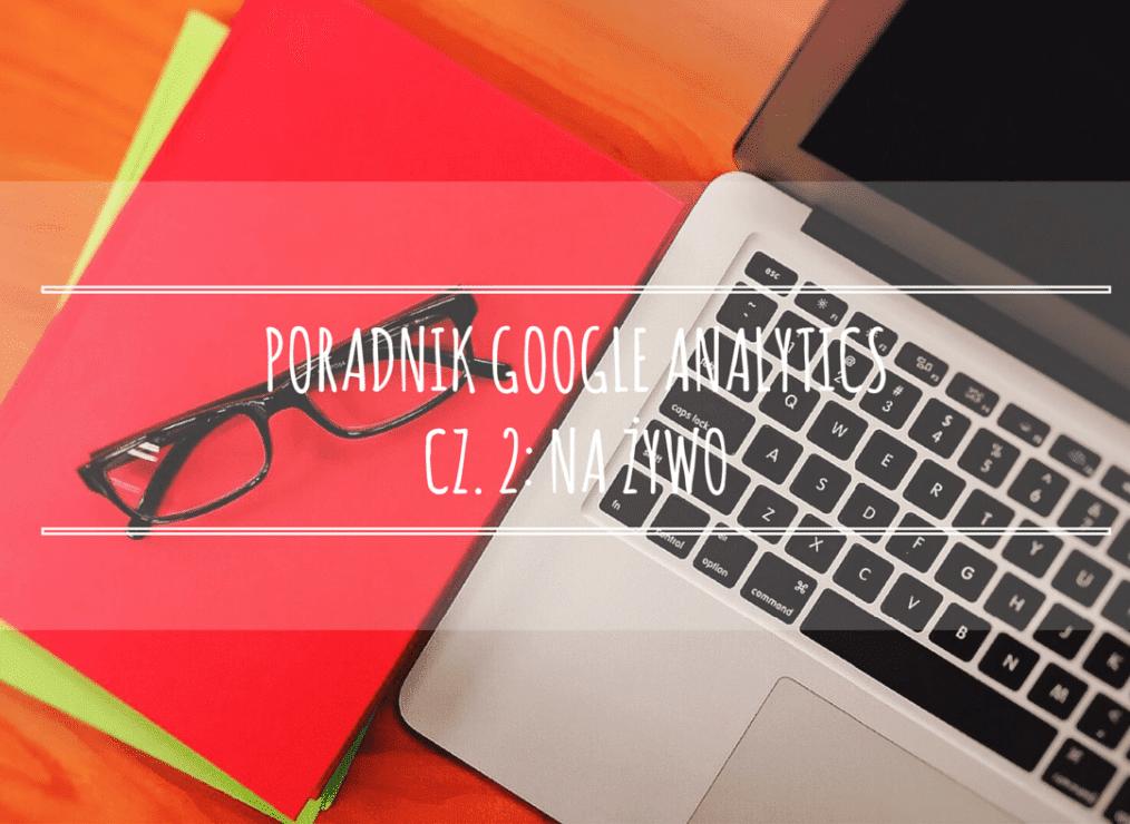 Poradnik Google Analytics dla początkujących – cz. 2: Na żywo