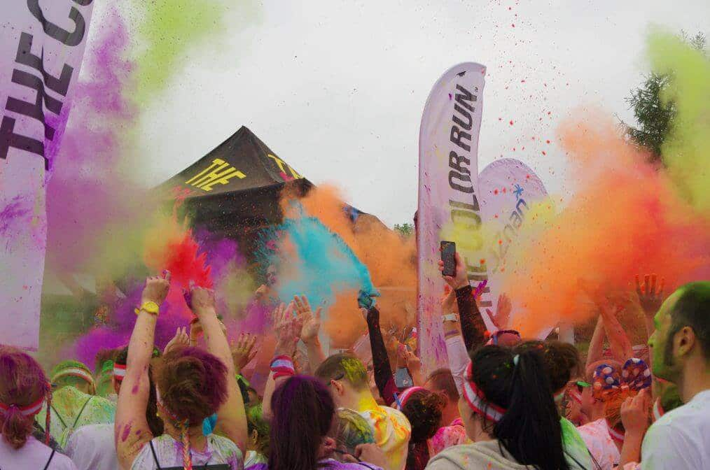 The Color Run – najszczęśliwszy bieg w Poznaniu