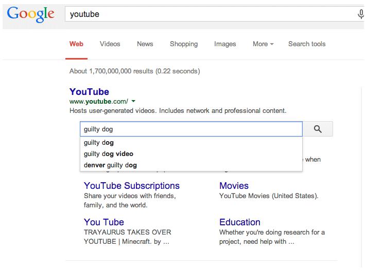 Sitelinks Search Box Aktywny
