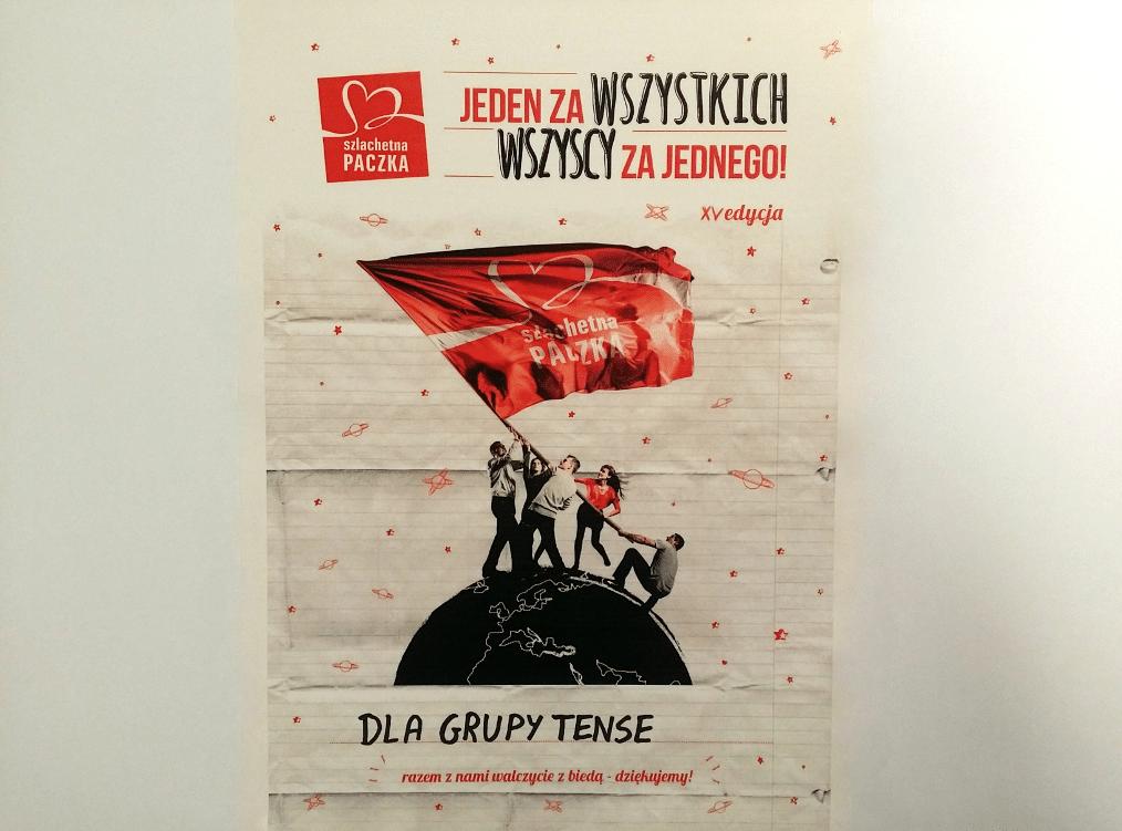 Grupa TENSE w roli Świętego Mikołaja!