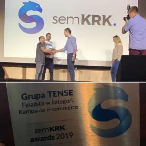 SEM KRK nagroda Grupa TENSE