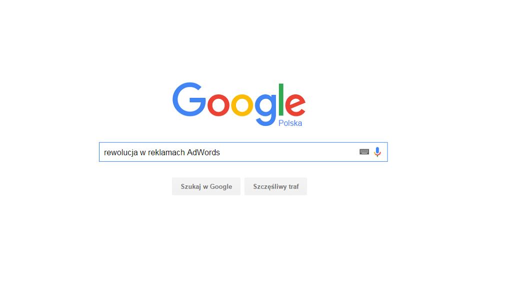 Google usuwa reklamy z prawego paska w wynikach wyszukiwania
