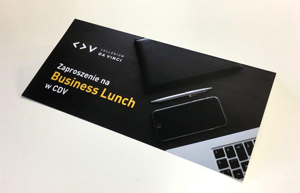 Rekruter na szkoleniu – relacja z Business Lunchu w Collegium Da Vinci