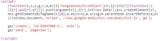 Weryfikacja - Google Analytics