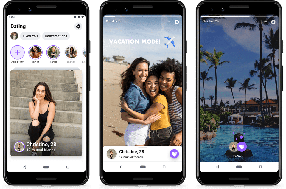 aplikacja Facebook Dating