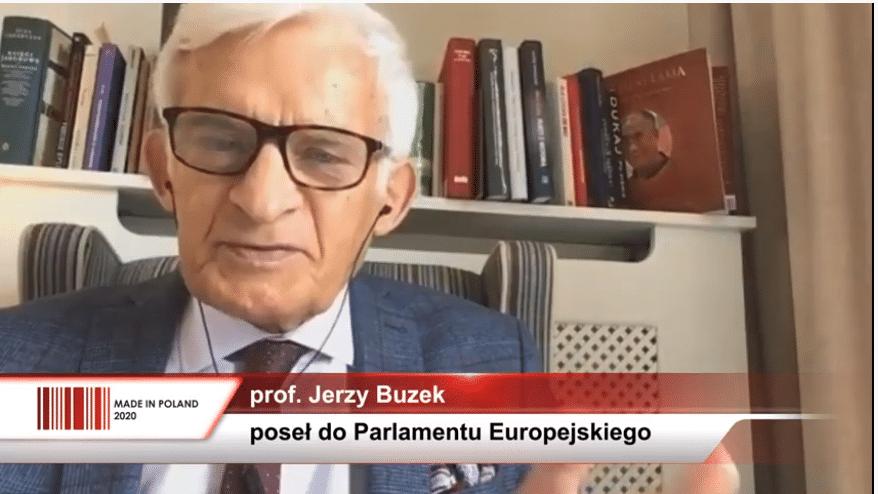Jerzy Buzek na Kongresie MADE IN POLAND