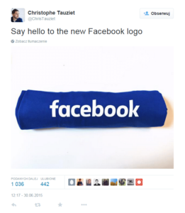 Facebook nowe logo
