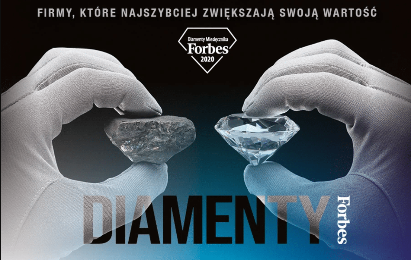 Grupa TENSE w rankigu Diamentów Forbesa