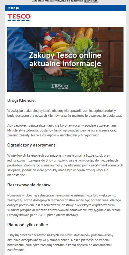 newsletter dla klientów