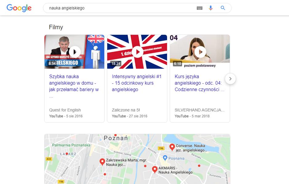 płatne wyniki Google Ads
