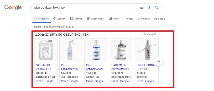 promowanie firmy przez Google Ads