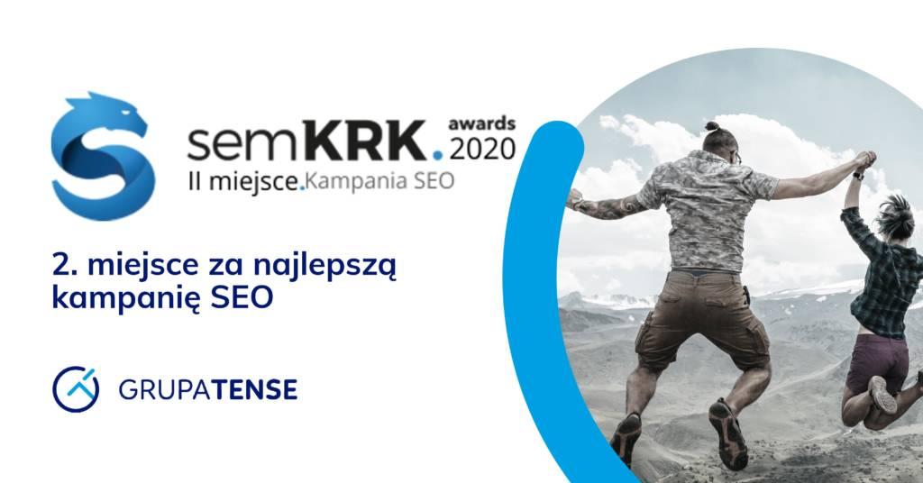 Srebrny medal i wyróżnienie na gali semKRK dla Grupy TENSE
