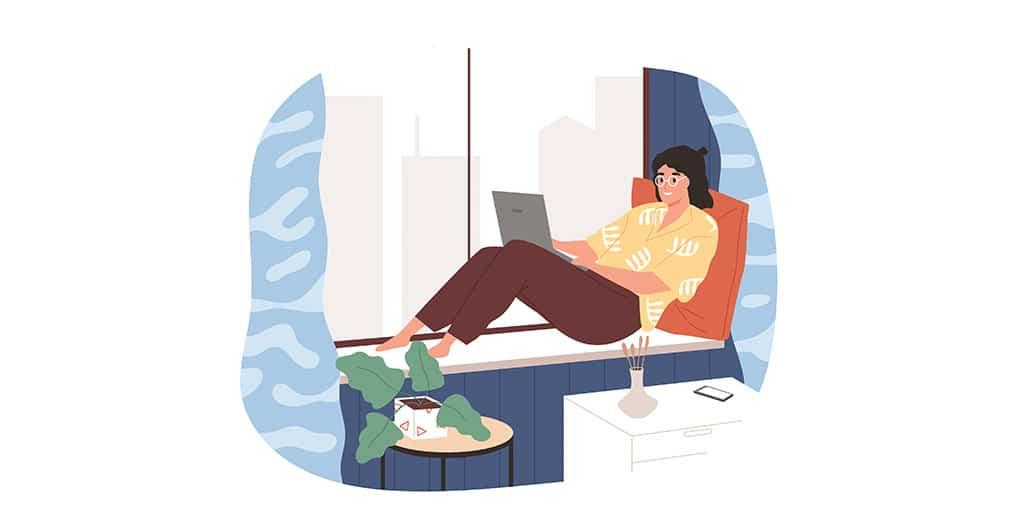 5 sposobów, by efektywnie pracować w domu