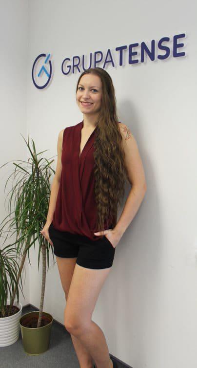 Weronika Gębicka, wywiad Grupy TENSE