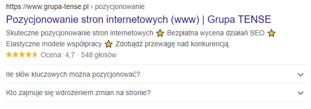 Znaczniki title oraz meta description