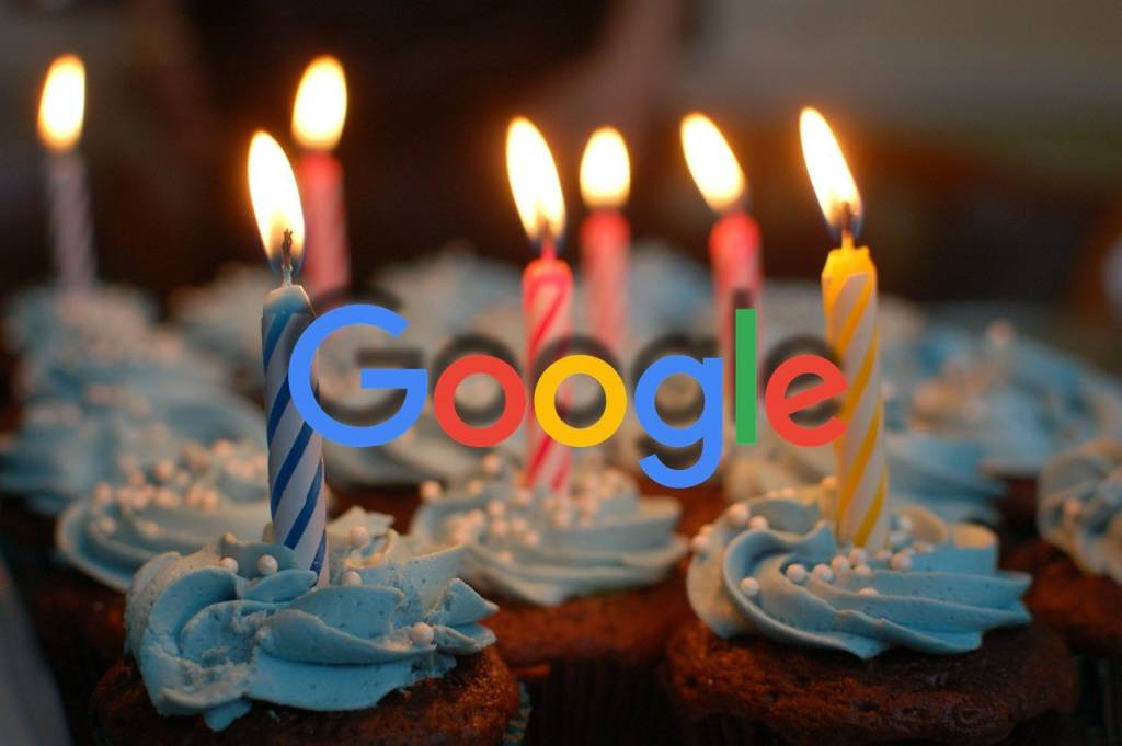 27 września 2017r. Google obchodzi swoje 19. Urodziny