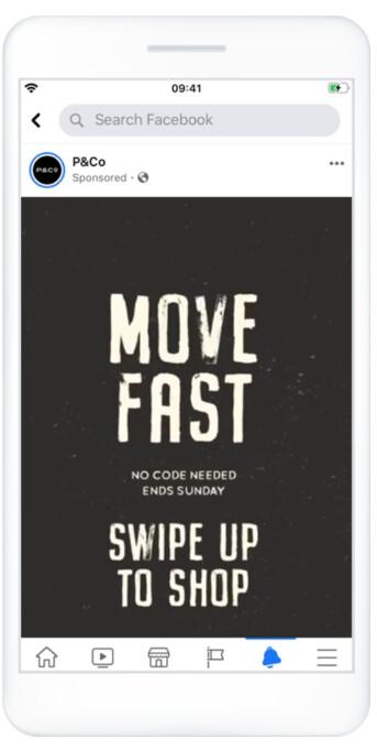 facebook ads pojedynczy obraz