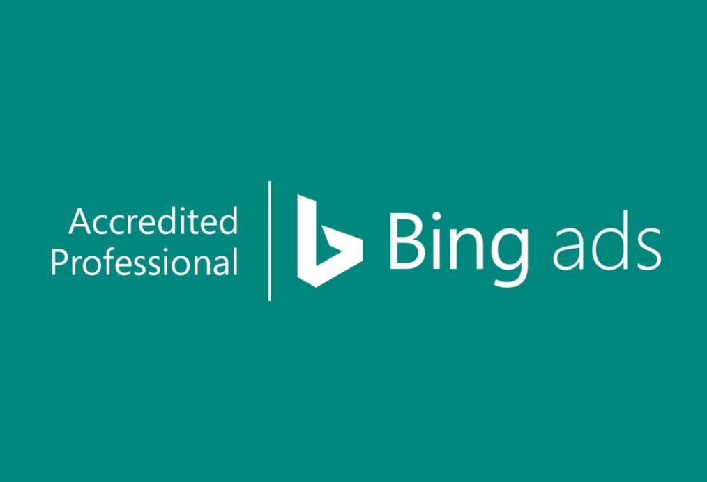 Grupa TENSE z certyfikatem Bing Ads Accredited Professional