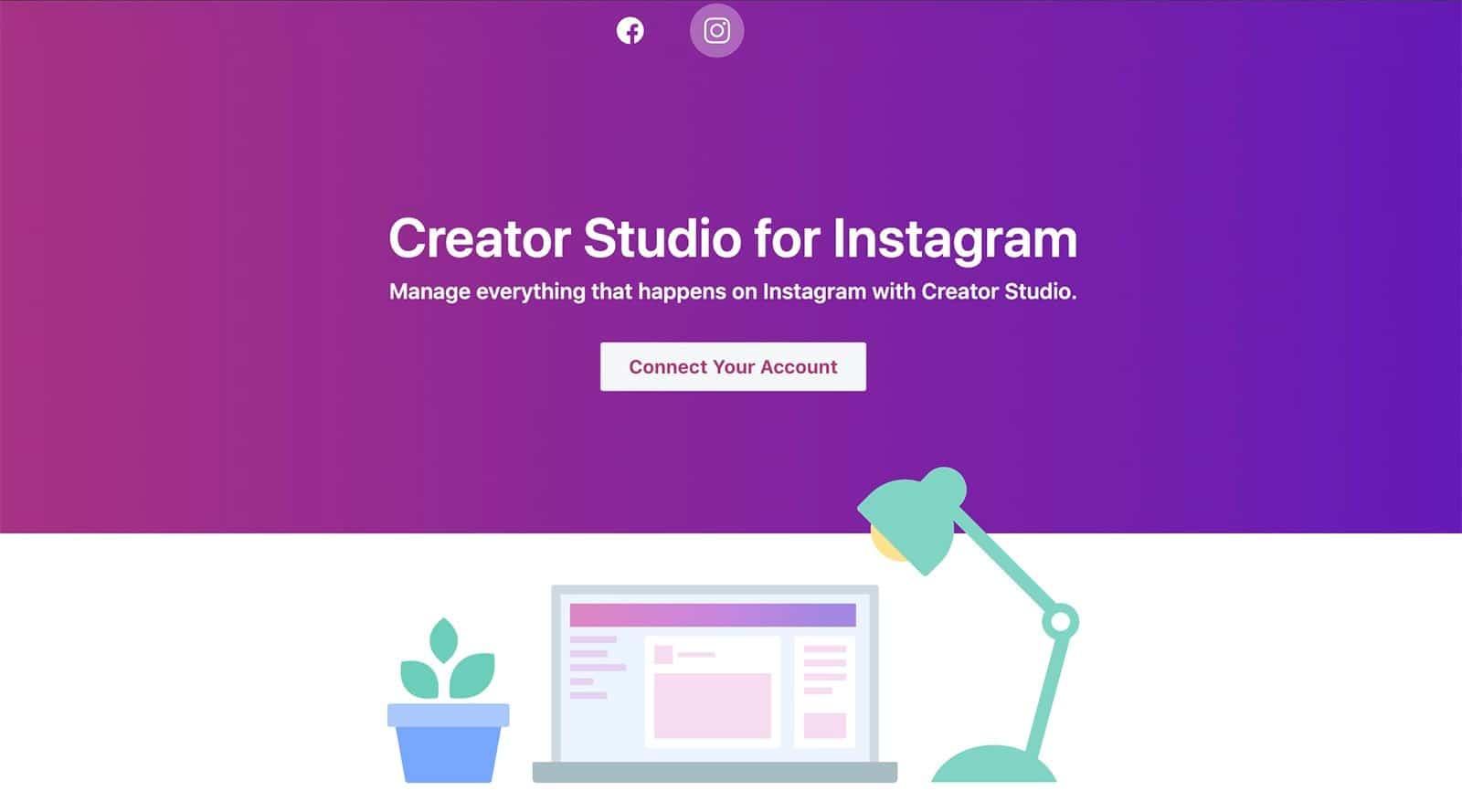 Creator Studio na Instagram