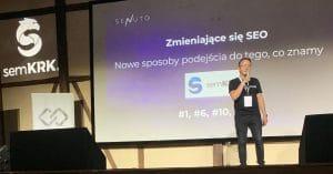 SEM KRK Damian Sałkowski