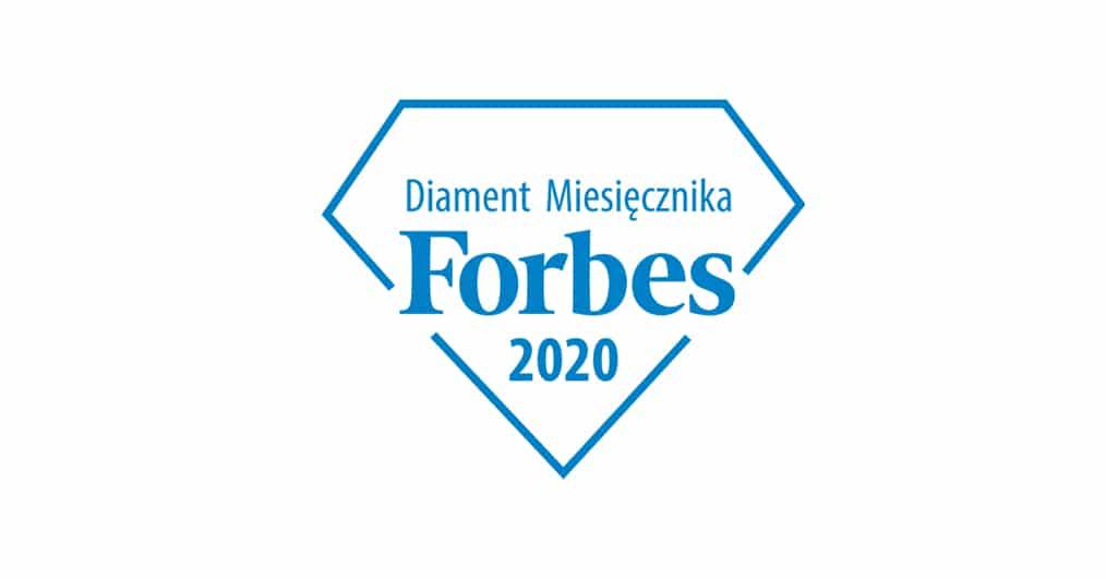Diament miesięcznika Forbes małe