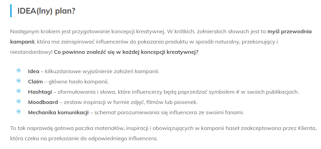 tekst o influencer marketingu Grupy TENSE