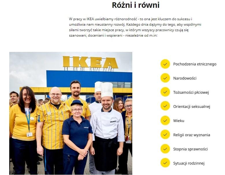 IKEA różni i równi