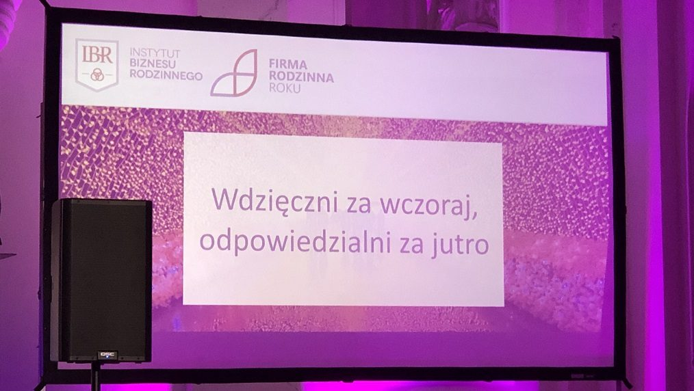 Grupa TENSE z wyróżnieniem w konkursie Firma Rodzinna Roku 2018!