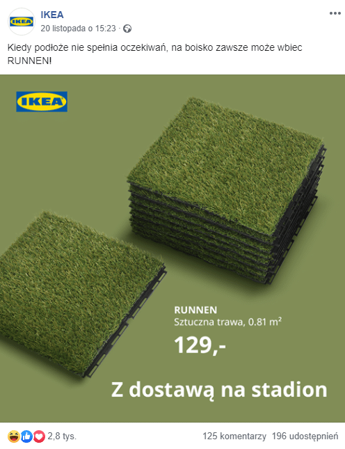 real time marketing IKEA