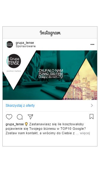 Reklama na Facebooku - Instagram Stories