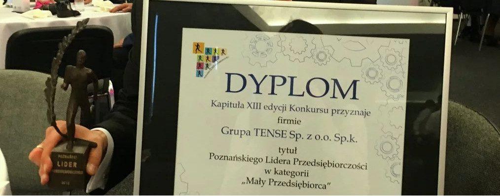Grupa TENSE Poznańskim Liderem Przedsiębiorczości!
