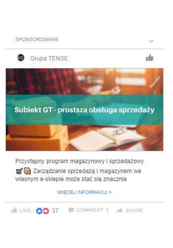 Ekspresowe artykuły w kampanii Facebook Ads