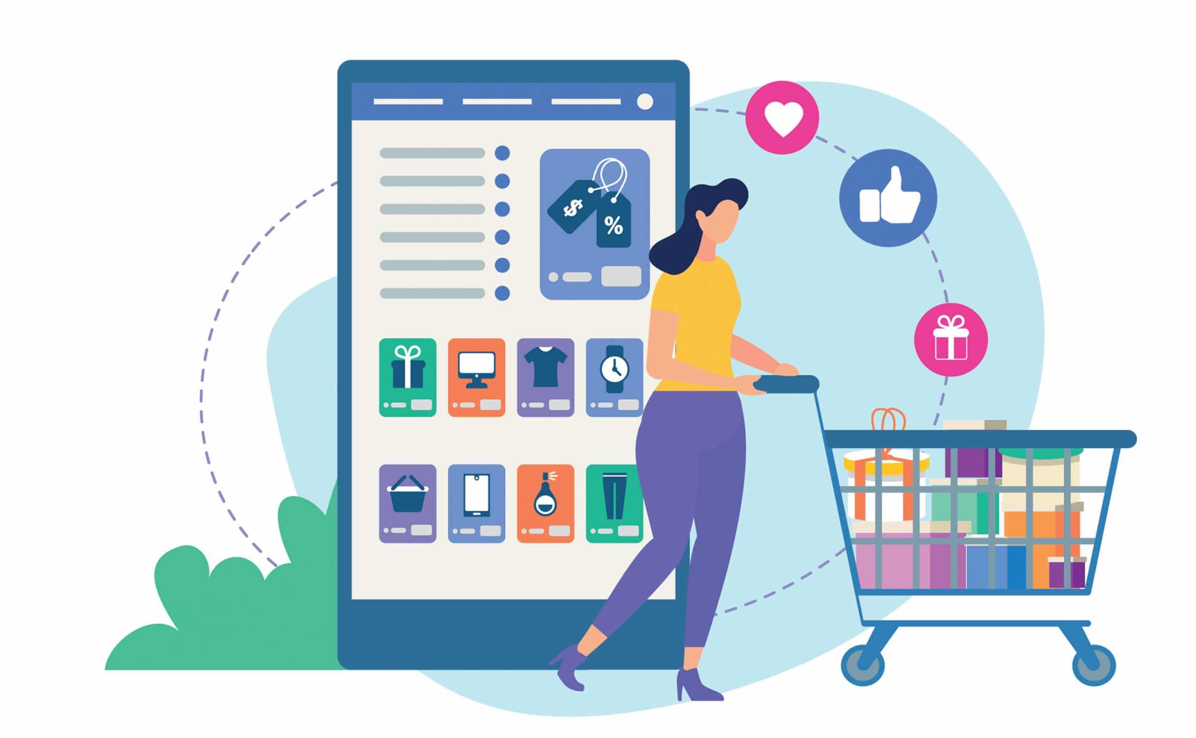 promocja sklepu w social media