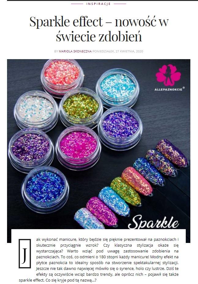 załóż blog poświęcony manicure