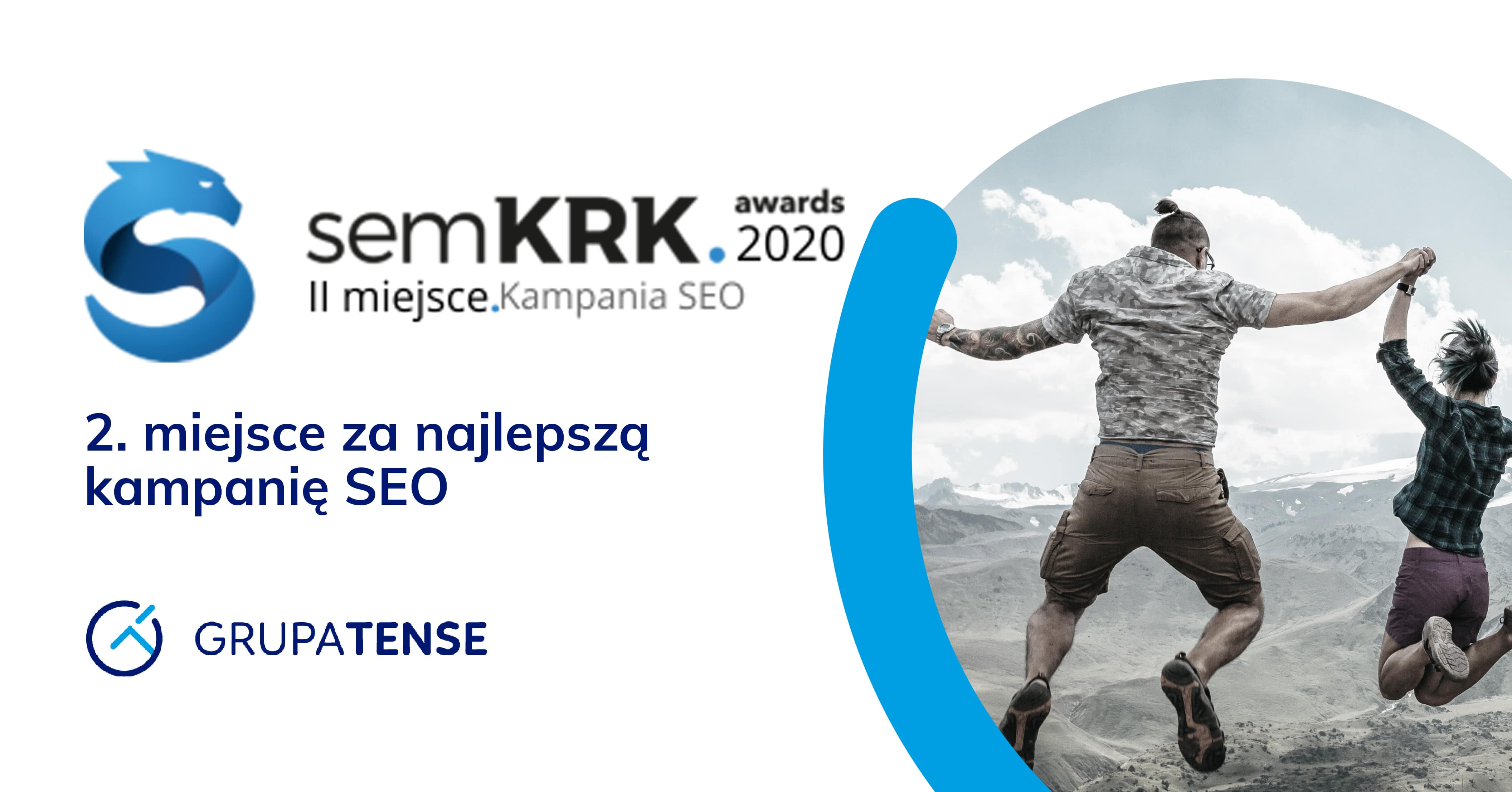 Grupa TENSE zajmuje drugie miejsce w semKRK Awards