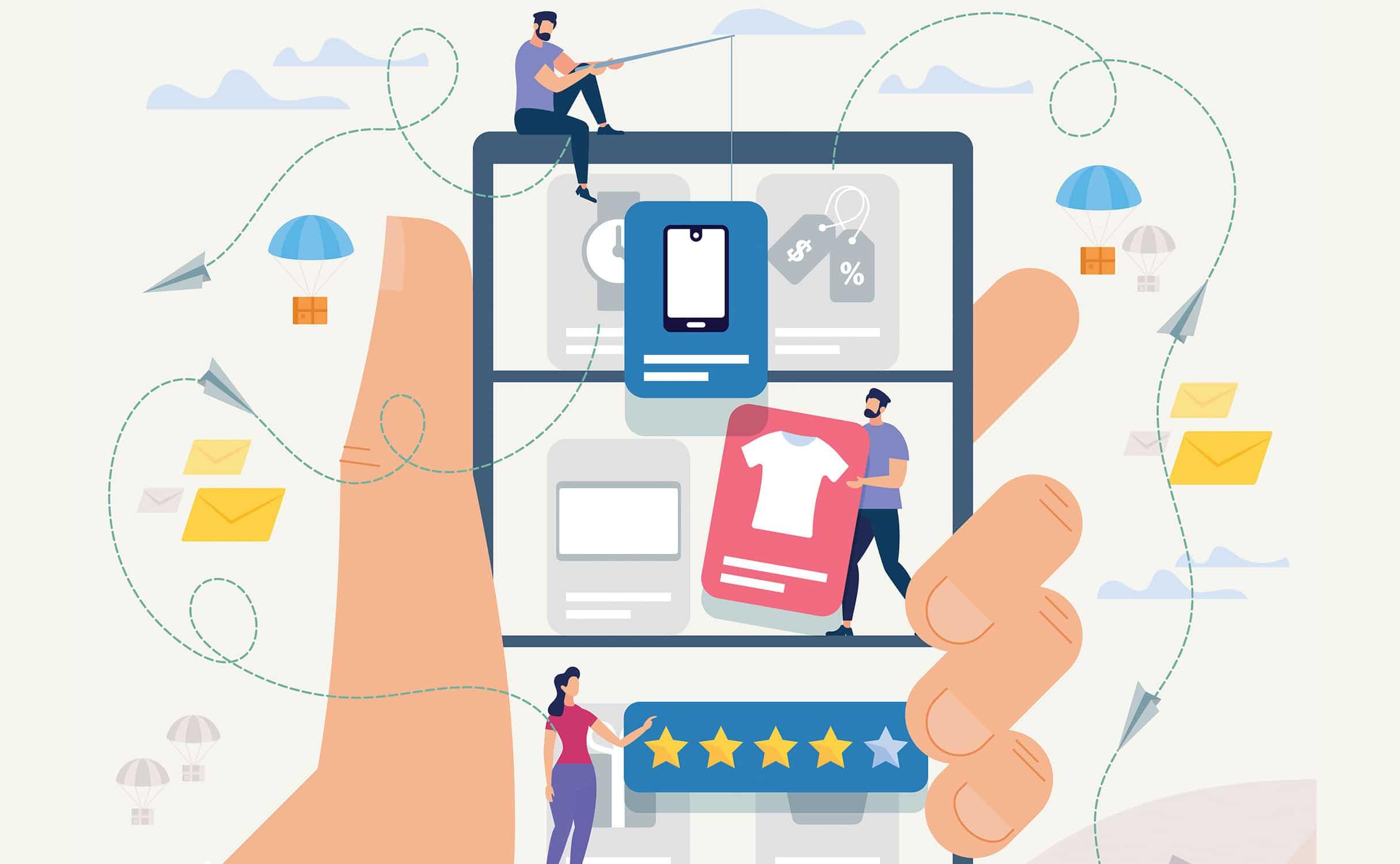 sklep online na urządzeniach mobile