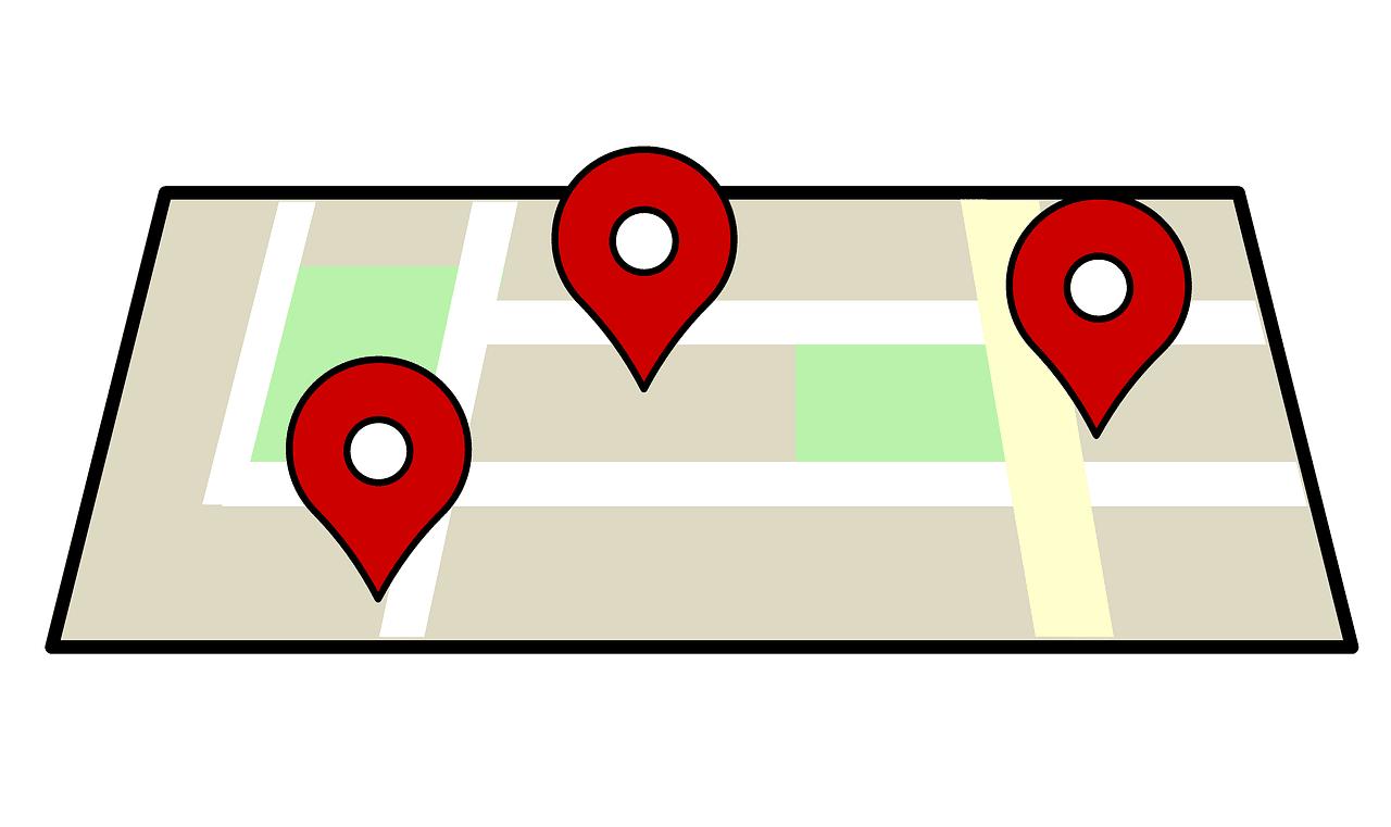zdjęcie mapy